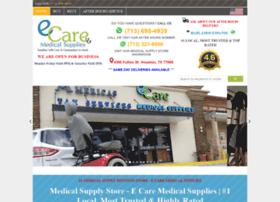 ecaremedicalsupplies.com