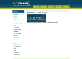 ecbhm.org