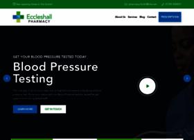 eccleshallpharmacy.co.uk