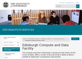 ecdf.ed.ac.uk