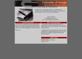 echeck.uga.edu