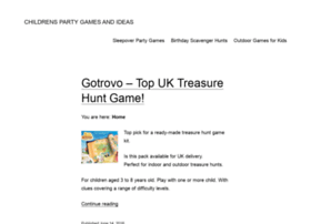 echildrenspartygames.com