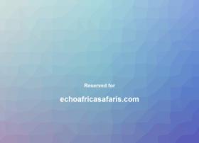 echoafricasafaris.com