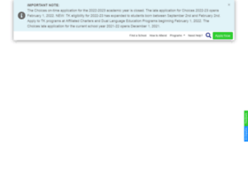 echoices.lausd.net