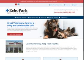 echoparkvethospital.com