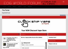 ecig-world-forum.com