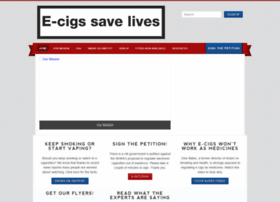 ecigssavelives.co.uk