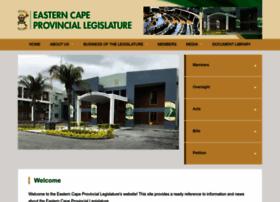 eclegislature.gov.za