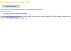 eclipse-update.iar.com