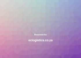 eclogistics.co.za