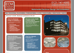ecmcontracting.co.uk