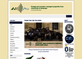 ecoacoustics.sciencesconf.org