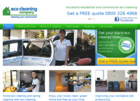 ecocleaning.co.nz