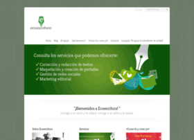 ecoescritura.com