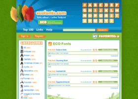ecofonts.com
