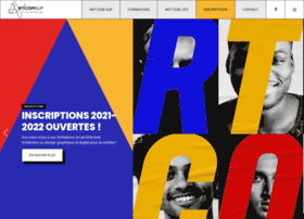 ecole-artcom.com