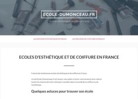 ecole-dumonceau.fr
