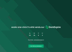 ecole-one-click.fr