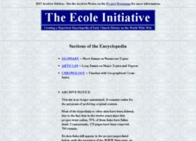 ecole.evansville.edu
