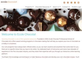 ecolechocolat.com