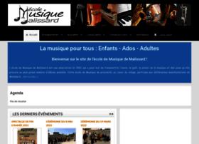 ecoledemusique-malissard.com