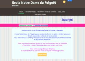 ecolenotredamebannalec.fr