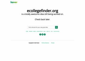 ecollegefinder.org