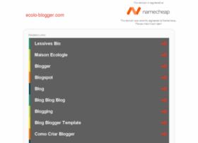 ecolo-blogger.com