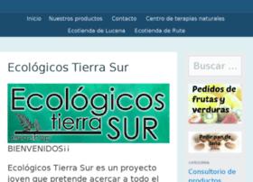 ecologicostierrasur.com