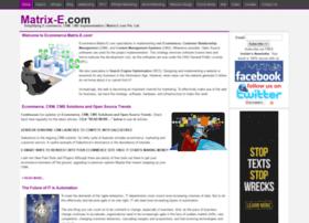ecommerce.matrix-e.com