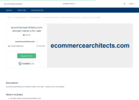 ecommercearchitects.com