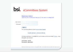 ecommittees.bsi-global.com