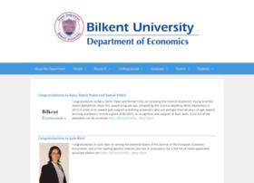 econ.bilkent.edu.tr