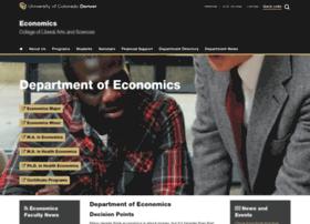Econ.ucdenver.edu
