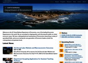 econ.ucsb.edu