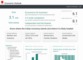 economicoutlook.cmie.com