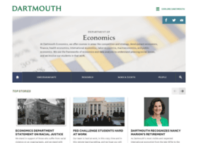 economics.dartmouth.edu