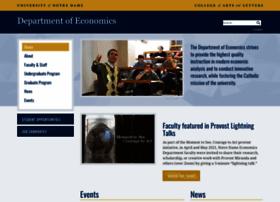 economics.nd.edu