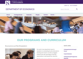 economics.northwestern.edu