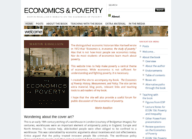 economicsandpoverty.com