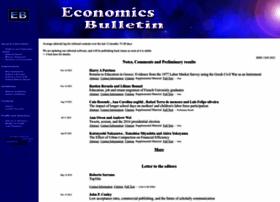 economicsbulletin.com