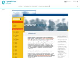 economiepublique.revues.org