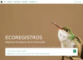 ecoregistros.org