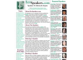 ecospeakers.com