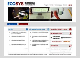 ecosys.gov.vn