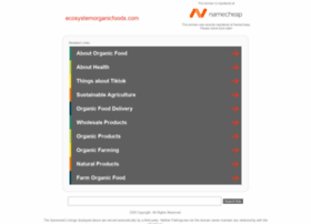 ecosystemorganicfoods.com
