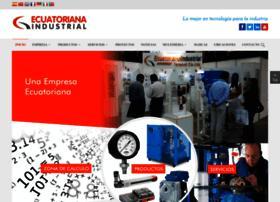 ecuatorianaindustrial.com