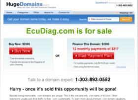ecudiag.com