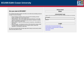 ecusis.ecu.edu.au