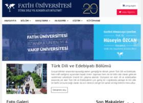 edebiyat.fatih.edu.tr